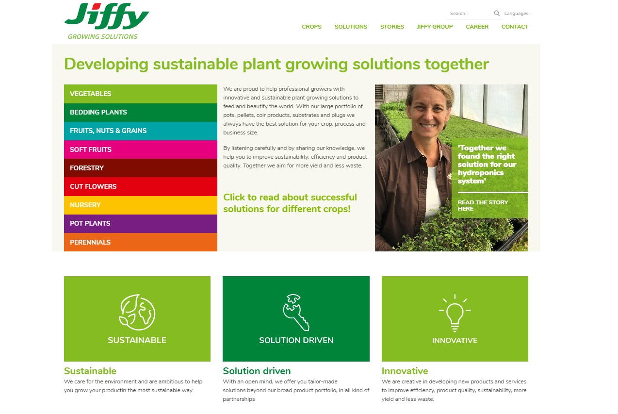 jiffy group new website