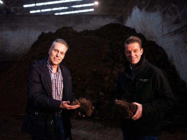 Peter Haan with Alex Schoemaker